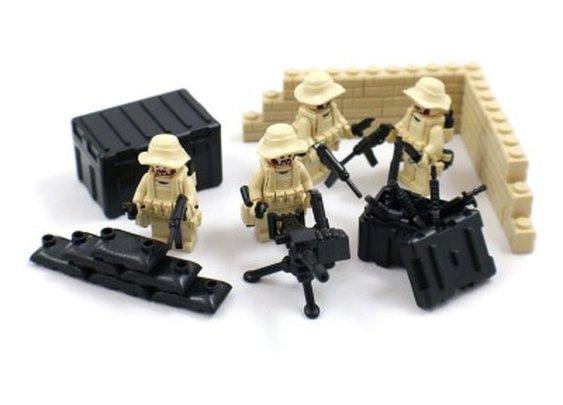 Desert Soldier Minifigures - Lego Compatible