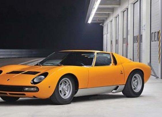 1972 Lamborghini Miura P400 SV by Bertone