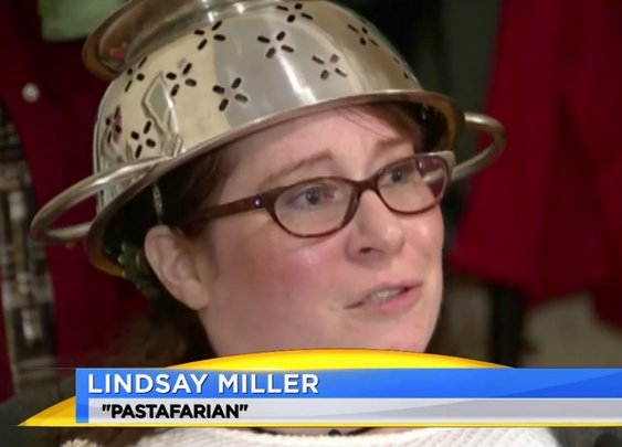 Self-Identified Pastafarian Wins Right to Wear Colander in Driver's License Photo