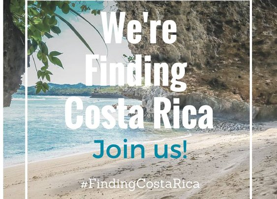 We're #FindingCostaRica. Come with us!