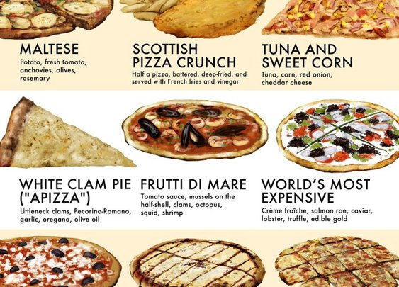 Have You Tried These 40 Types Of Pizza? | Food Republic