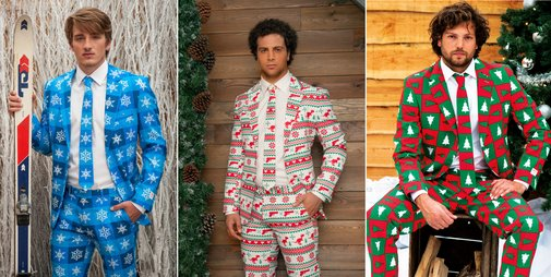 Ugly Christmas Suits are here