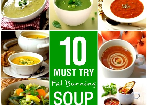 10 Must Try Fat Burning Soup Recipes | My Weight Loss Dream