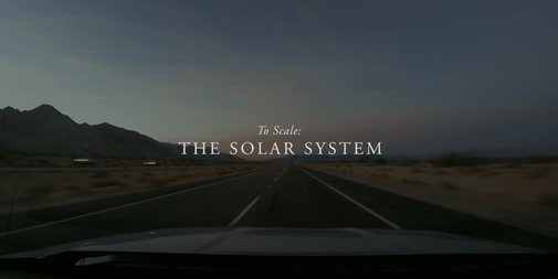 To Scale: The Solar System on Vimeo