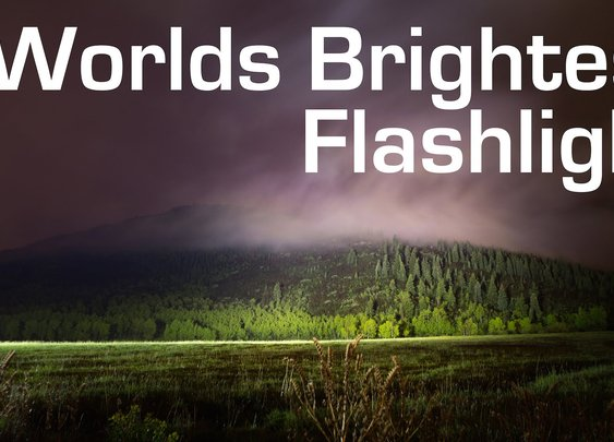1000W LED Flashlight - Worlds Brightest (90,000 Lumens) - YouTube