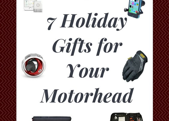 7 Gift Ideas For the Motorheads and Car Enthusiasts On Your Christmas Shopping List | Blackburn