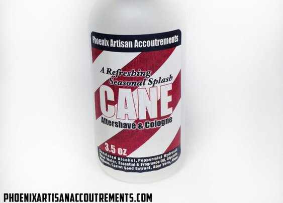 CANE Holiday Aftershave/Cologne - Peppermint, Talc, Hedione & More! – Phoenix Artisan Accoutrements
