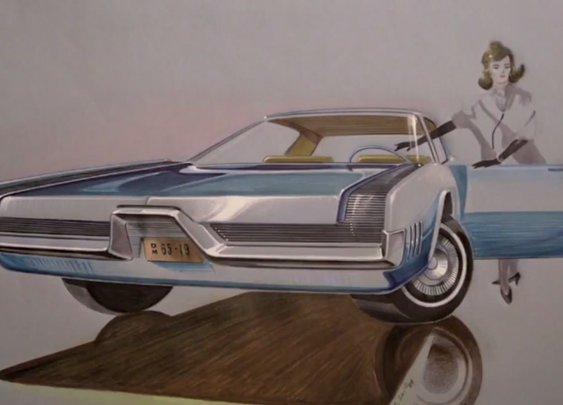 See Sketches From the Golden Age of the Auto Industry | Mental Floss