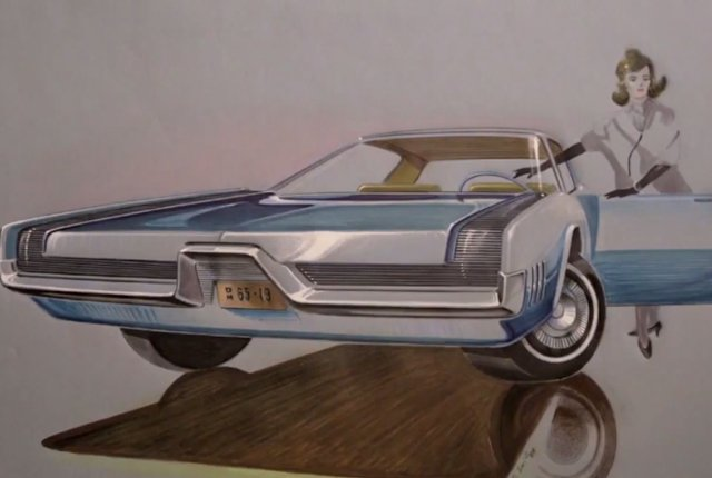 See Sketches From the Golden Age of the Auto Industry   Mental Floss