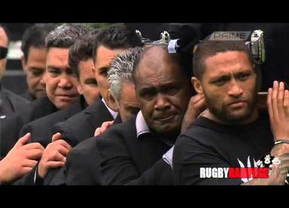 One final haka as New Zealand bids emotional farewell to Jonah Lomu