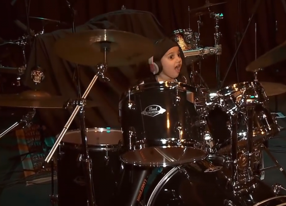 Five-Year-Old Drummer Plays System of a Down's 'Chop Suey'