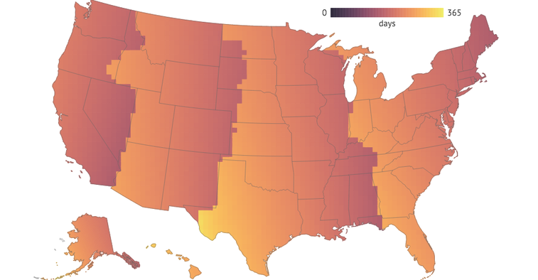 These Maps Prove That Daylight Saving Time Is the Actual Worst - CityLab