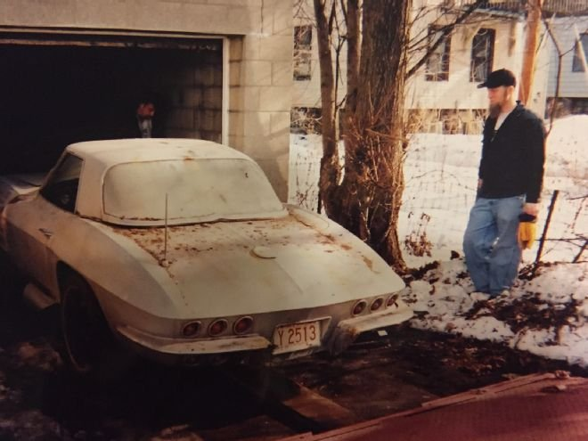 Two 1957 Corvettes and a 1963 Convertible Found in a Milwaukee Barn