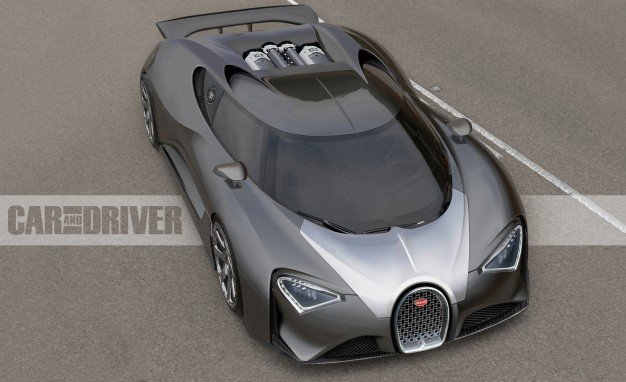 Bugatti Chiron: The 1500-hp, $2.5-Million Veyron Successor Is Official – News – Car and Driver | Car and Driver Blog