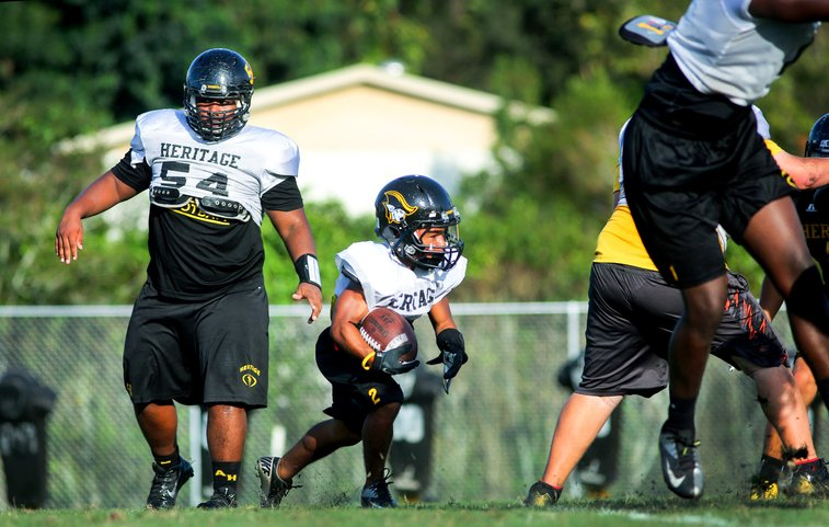 Undersized running back stars at nationally-ranked Florida high school