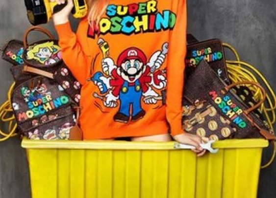 Moschino Unveils a 'Super Mario' Inspired collection