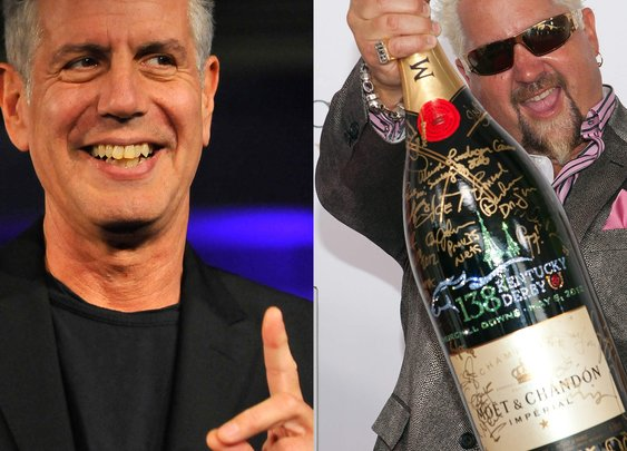 Bourdain vs Fieri: Feuding Chefs Complete Each Other
