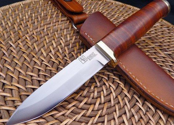 Vehement Knives Leather Bushcrafter   Men's Gear