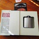 Secret Book Safe Conceals Flask | StashVault