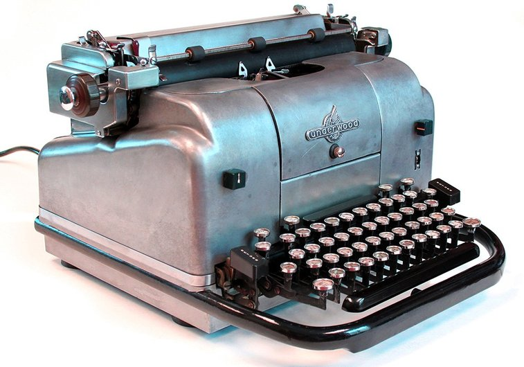 Why the typewriter is making a comeback