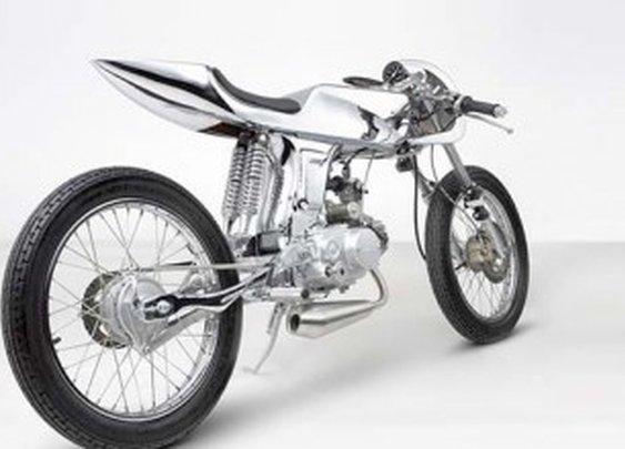 Custom Honda Supersport 125cc AVA by Bandit9