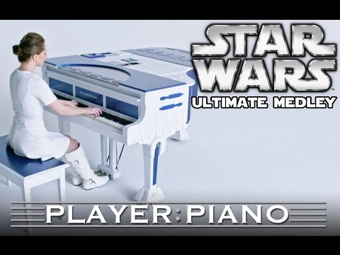 Ultimate Star Wars Medley - Player Piano (Sonya Belousova) - YouTube