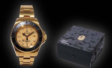 Bamford Watch Department Creates Custom Rolex For BAPE