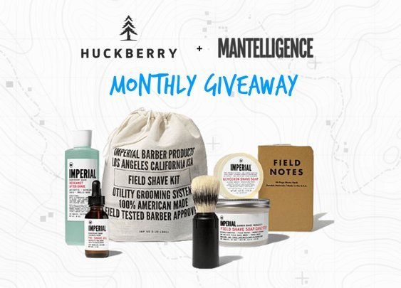 Ultimate Field Shave Kit Giveaway from Huckberry and Mantelligence