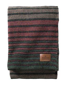Pendleton Woolen Mills: HEMRICH STRIPE CAMP BLANKET