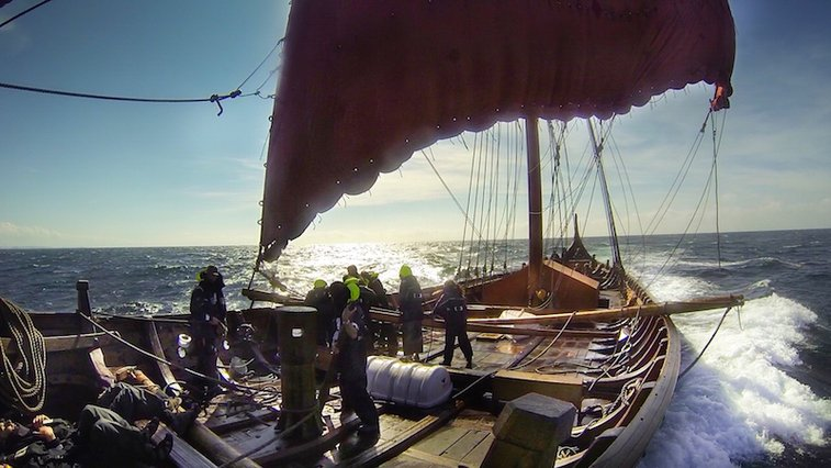 CALLING ALL VIKINGS: Volunteer Crew Needed for Transatlantic Voyage on a 115-Foot Longship