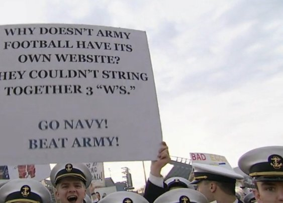 The 13 funniest 'College GameDay' signs from the Army-Navy game