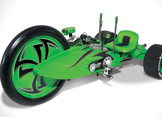 Green Machine Big Wheel Motorcycle