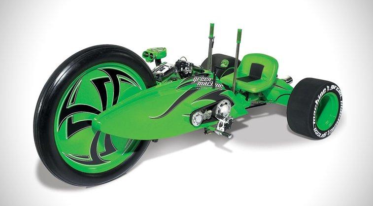 Green Machine Big Wheel Motorcycle
