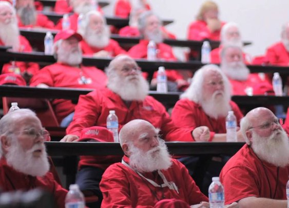 A Look Inside Santa Training University - YouTube