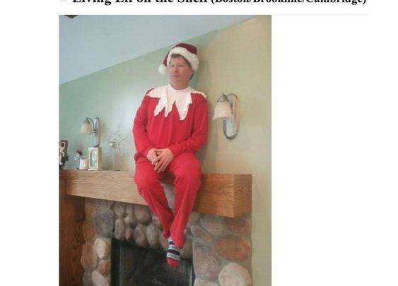 Boston Craigslist man wants to be your personal Elf on a Shelf this holiday season - Community - Boston.com