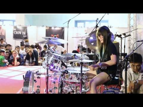 S.White - Fantastic Baby (BigBang) Drum Cover - YouTube