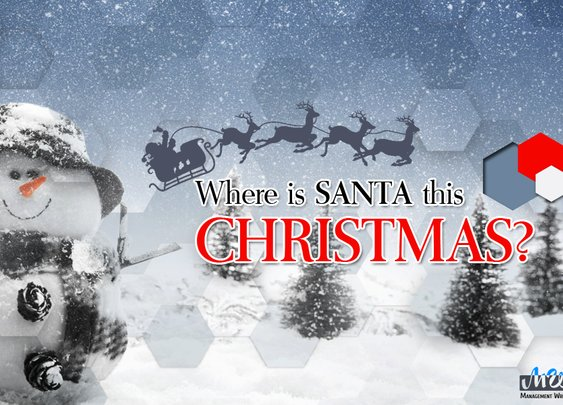 Where Is Santa This Christmas? - Blog | Management Writing Solutions