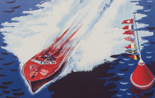 Gorgeously Designed Vintage Boating Posters - Airows