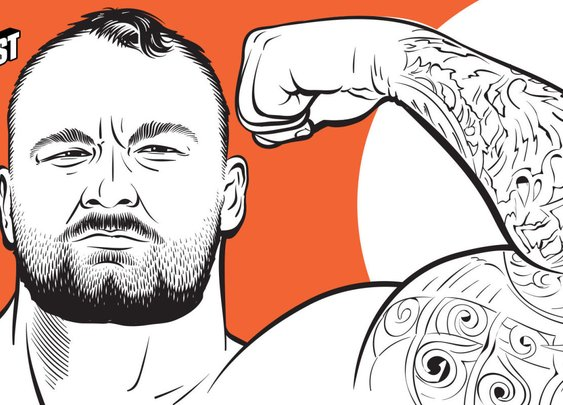 The Strongman: Hafthor Julius Bjornsson