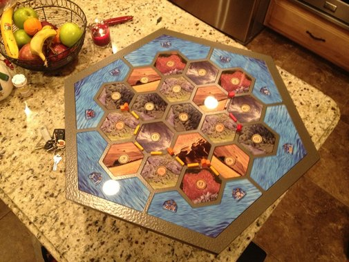 Homemade Catan Board