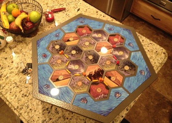 Homemade Catan Board