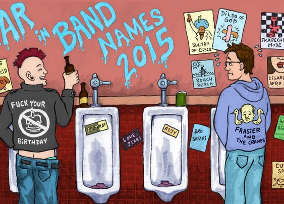 When Bundled Bowels met Gruesome Toilet: The 2015 year in band names      · The Year In Band Names     · The A.V. Club