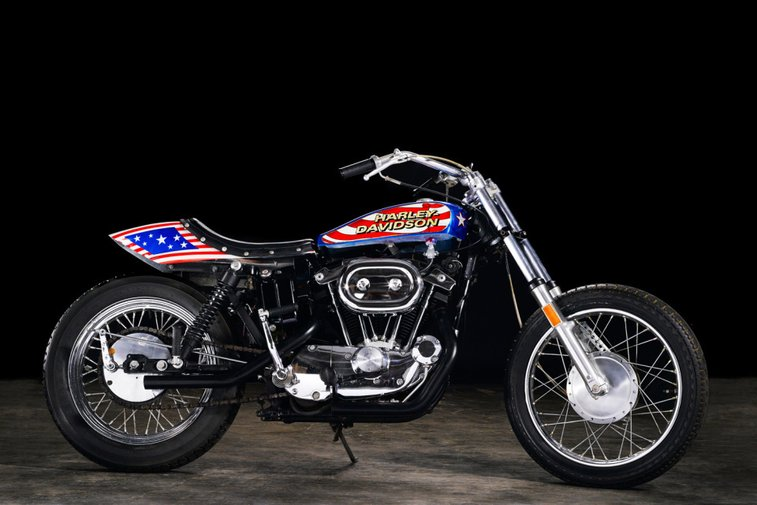 Evel Knievel's 1976 Harley-Davidson Sportster Is Going Up for Auction