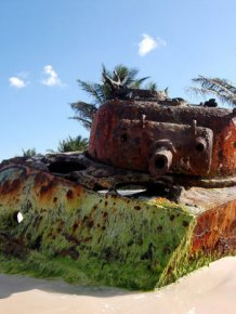 Abandoned Army Tanks That Have Become A Part Of Nature |  PIXIMUS.net