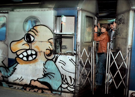 Relive the Glory Days of '80s Subway Graffiti With These Captivating Photos | Atlas Obscura