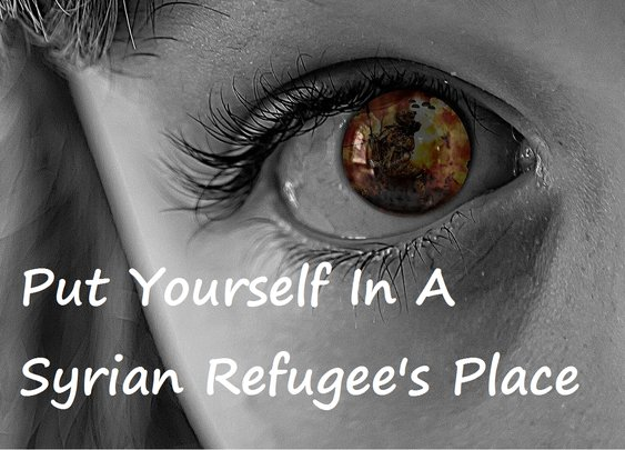 Put Yourself In A Syrian Refugee's Place « Skinny and Single