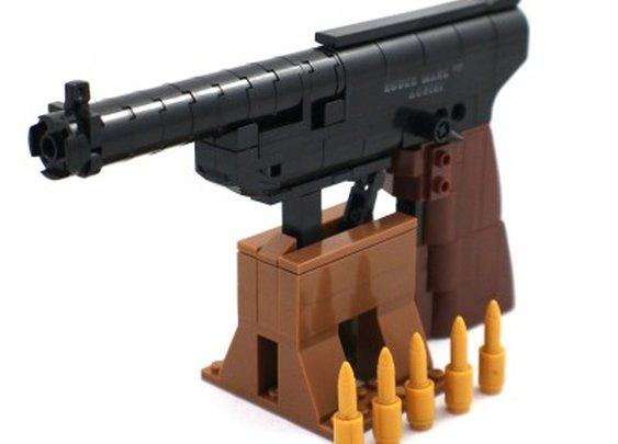 Ruger Mark III Pistol - Lego Compatible Model