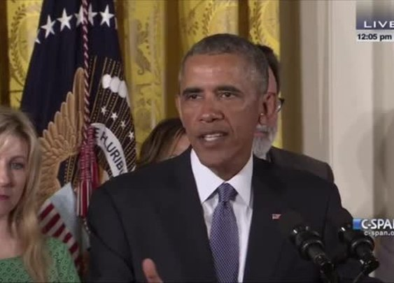 Montage: In 33-Minute Speech on Guns, Obama Refers to himself 76 Times