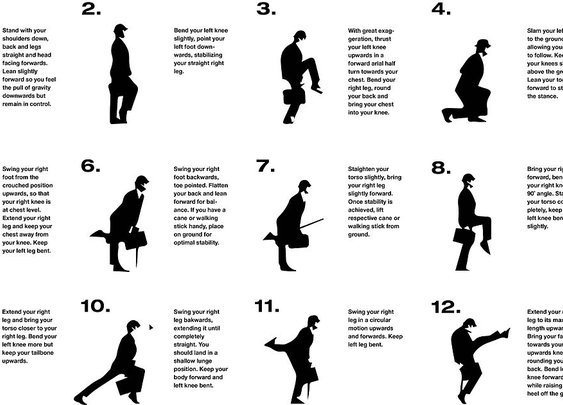 How To Correctly Silly Walk - Ministry of British Comedy