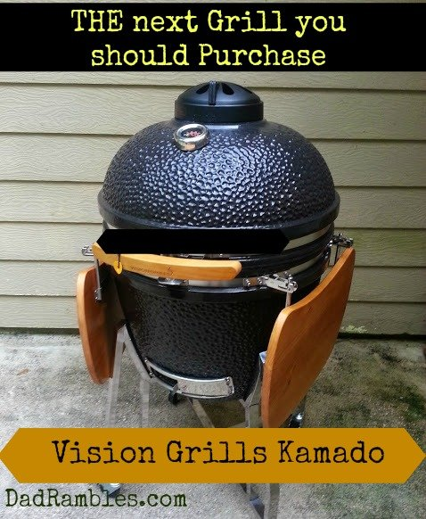 Dad's Toy - A New Vision Kamado Grill - Dad Rambles   Daddy Blog about life, outdoors, product review, tech stuff
